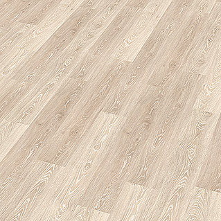 Decolife Vinylboden Ivory Washed Oak (1.220 x 185 x 10,5 mm, Landhausdiele)