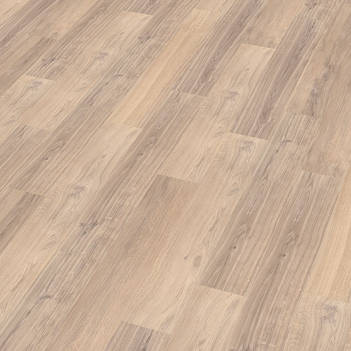 Decolife Vinylboden Alabaster Oak (1.220 x 185 x 10,5 mm, Landhausdiele)