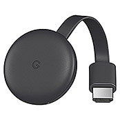 Google Streaming-Stick Video Chromecast 3 (HDMI, 1080 Pixel (Full HD), 2,4 GHz)