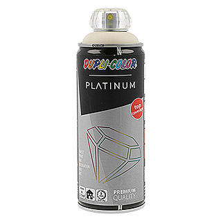 Dupli-Color Platinum Buntlack-Spray RAL 1015 (Hellelfenbein, 400 ml, Seidenmatt)