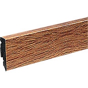 Profiles and more Sockelleiste KU51L Eiche Natural (2,4 m x 15 mm x 50 mm, Gerade)