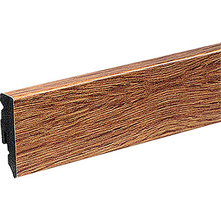 Profiles and more Plint KU51L Eiken Natural (2,4 m x 15 mm x 50 mm, Recht)