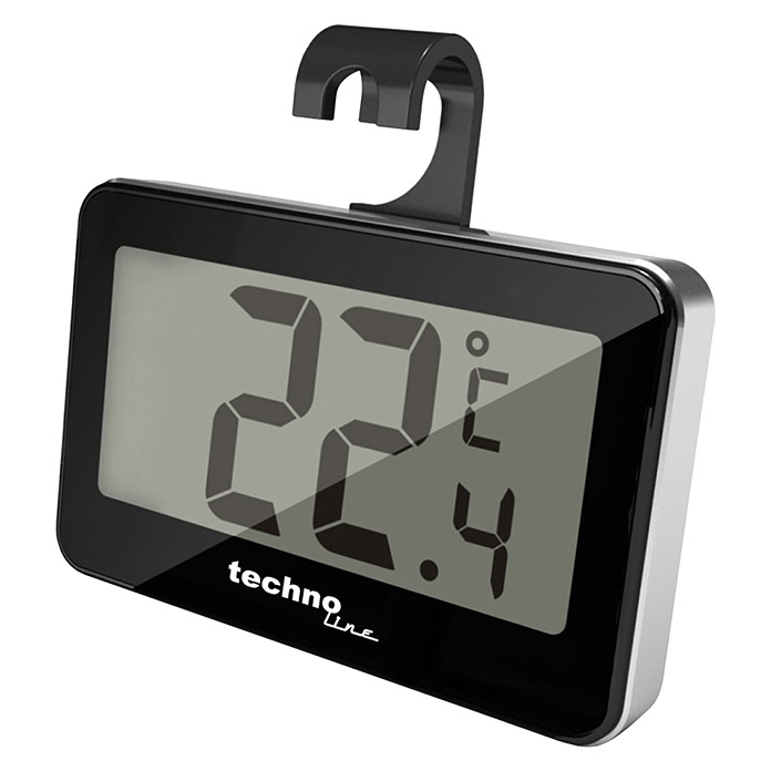 Technoline Thermometer WS 7012 (Digital, 1 x 6,6 x 4,2 cm) -