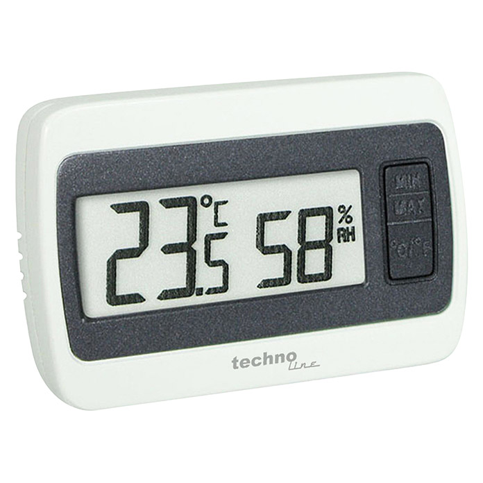 Technoline Thermometer WS 7005 (Weiß, 14 x 60 x 40 mm) -