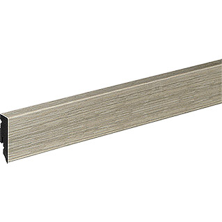 Profiles and more Sockelleiste KU51L Polar Oak (2,4 m x 15 mm x 50 mm, Gerade)