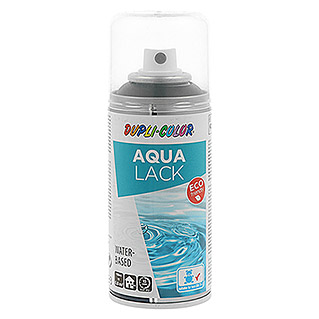 Dupli-Color Aqua Lackspray (Seidenmatt, 150 ml, Schwarz)