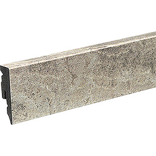 Profiles and more Sockelleiste KU51L Taupe Grey Stone (2,4 m x 15 mm x 50 mm, Gerade)