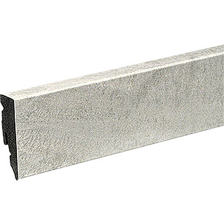 Profiles and more Sockelleiste KU51L Chalk Stone (2,4 m x 15 mm x 50 mm, Gerade)