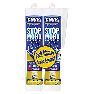 Ceys Silicona Stop Moho Pack (2 uds.)