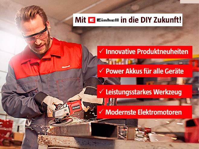Einhell Innovationen