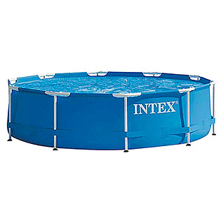Intex Piscina Frame Pool (Ø x Al: 305 x 76 cm, Azul)