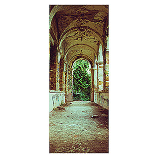 SanDesign Acryl-Verbundplatte Lost Place Abbey (100 x 250 cm)