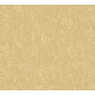 AS Creation Romantico Vliestapete Uni Metallic (Gold, Uni, 10,05 x 0,53 m)