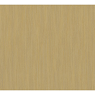 AS Creation Sumatra Vliestapete I (Gold/Braun, Uni, 10,05 x 0,53 m)