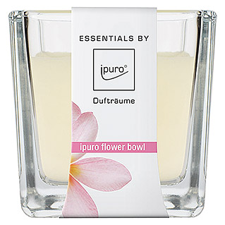 Ipuro Essentials Duftkerze (Im Glas, Flower Bowl, 125 g)