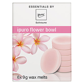 Ipuro Essentials Duftwachs (Flower Bowl, 6 x 9 g)