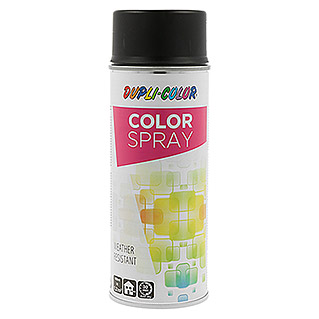 Dupli-Color Color Lackspray RAL 9005 (Matt, 400 ml, Tiefschwarz)