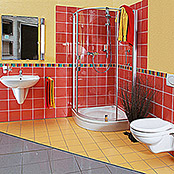 WAND-WC WEISS SAVAL /FESTIVAL TIEFSPUELE