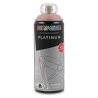 Dupli-Color Platinum Buntlack-Spray (Rosa, 400 ml, Seidenmatt)