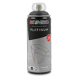 Dupli-Color Platinum Buntlack-Spray RAL 7016 (Anthrazitgrau, 400 ml, Seidenmatt)