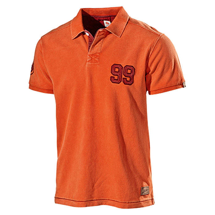 L.Brador Pique-Shirt 6006 B (S, Orange)