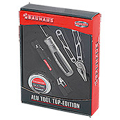 ALU-TOOL- SET 4-TLG.TOP       EDITION   BAUHAUS