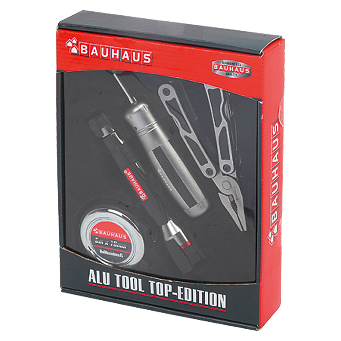 BAUHAUS Alu Tool-Set Top-Edition