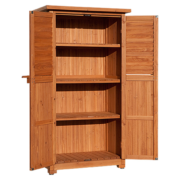 weka ger teschrank nerja 43 x 80 x 160 cm holz farbig behandelt bauhaus. Black Bedroom Furniture Sets. Home Design Ideas