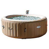 Intex Piscina de hidromasaje Pure Spa 77 Bubble Therapy (Diámetro: 196 cm, Altura: 71 cm, 0,8 m³)