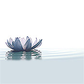 IR THERMOCOVER 60x120cm WHITE WATERLILY