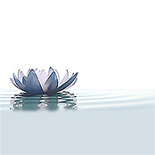 IR THERMOCOVER 60x140cm WHITE WATERLILY
