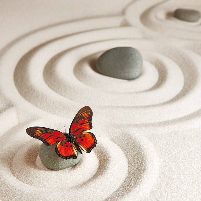 Admiral IR-Thermocover  (120 x 60 cm, Butterfly Circles)