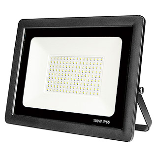Led Hispania Proyector de LED Eko luz fría (Negro, 100 W, IP65)