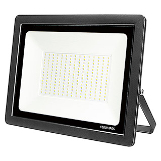 Led Hispania Proyector de LED Eko luz fría (Negro, 150 W, IP65)