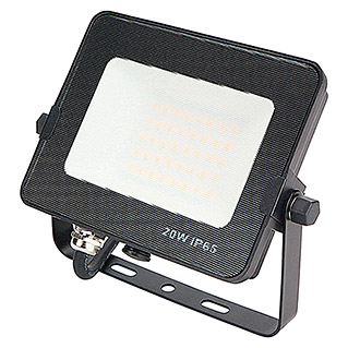 Led Hispania Proyector de LED FLHAK luz neutra (Negro, 20 W, IP65)