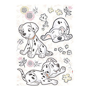 Komar Disney Edition 4 Dekosticker 101 Dalmatiner Best Of Friends (20-tlg., Bunt)