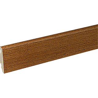 Profiles and more Furnierleiste SU60L (Bernstein Eiche lackiert, 2,5 m x 19 mm x 58 mm)