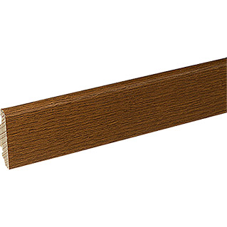 Profiles and more Furnierleiste SU60L (Eiche Braun, 2,5 m x 19 mm x 58 mm)