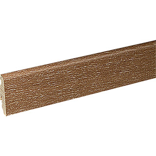 Profiles and more Furnierleiste SU60L (Eiche Moccabraun, 2,5 m x 19 mm x 58 mm)
