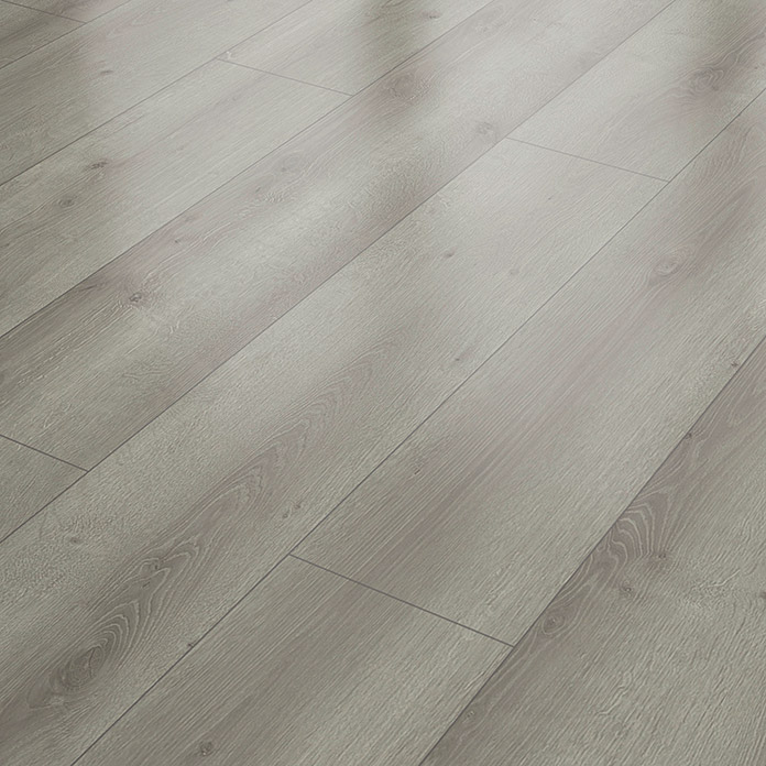 Laminat Grey Oak (1.286 x 282 x 8 mm, Landhausdiele) -