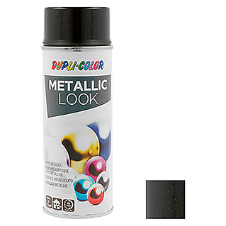 Dupli-Color Effect Acrylspuitlak Metallic (Zwart metallic, Zijdemat, Sneldrogend, 400 ml)