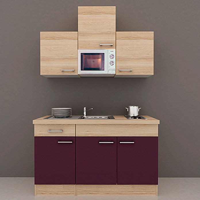 minikche mit backofen finest singlekche minikche backofen u herdplatten with minikche mit. Black Bedroom Furniture Sets. Home Design Ideas