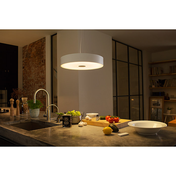 Philips Hue Lámpara colgante LED Fair (33 W, Blanco, Altura: 150 cm)