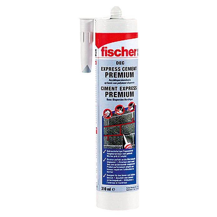 fischer dec express cement premium 310 ml l semittelfrei gebrauchsfertig bauhaus. Black Bedroom Furniture Sets. Home Design Ideas