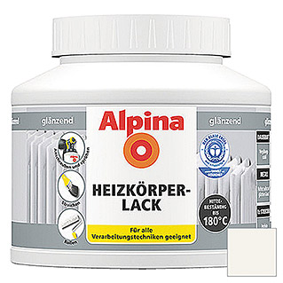 HEIZKOERPERLACK     GLZ 910ml           ALPINA