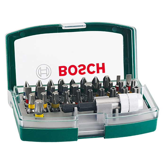 bosch bit set promoline 32 tlg bauhaus. Black Bedroom Furniture Sets. Home Design Ideas