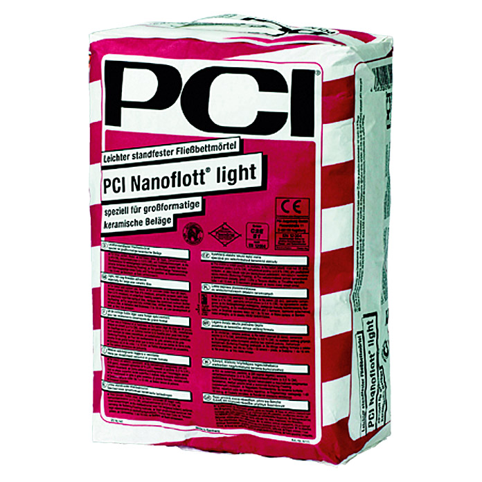 PCI Fließbettmörtel Nanoflott Light