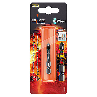 Wera Premium Plus Bit 851/4 Impaktor (PH 3, 50 mm)