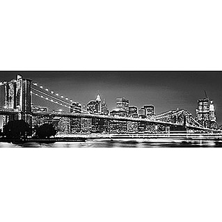 Komar Fototapete Brooklyn Bridge (4-tlg., 368 x 127 cm)