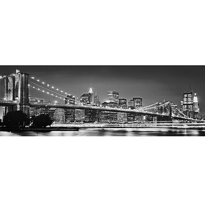 Komar Fototapete Brooklyn Bridge (4-tlg., 368 x 127 cm) | 6180 ...